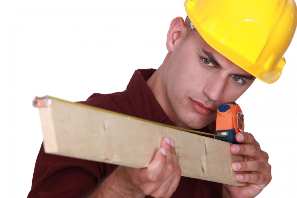 construction worker during work
