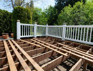 deck building in progress
