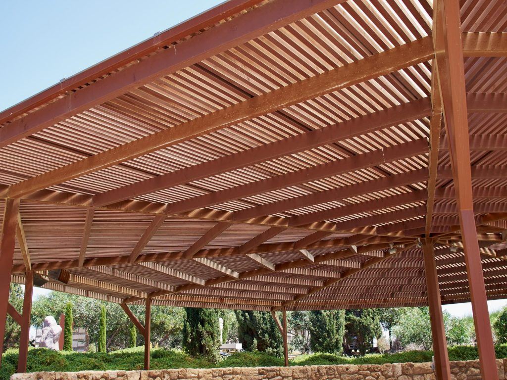 shade structures when completed